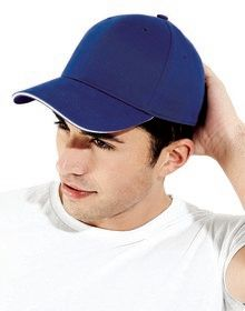 ATHLEISURE 6 PANEL CAP BRIGHT ROYAL/WHITE  L'
