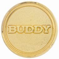 BUDDY ROUND BADGE
