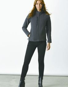 CORPORATE SOFT SHELL JACKET GRAPHITE 18'