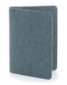 ESSENTIAL PASSPORT COVER GREY MARL  ONE'