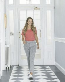 GALS LOUNGE PANT HEATHER  S'