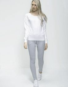 GIRLIE FASHION SWEAT ARCTIC WHITE  L'