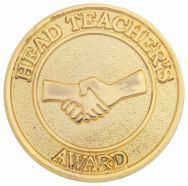 HEAD TEACHERS ROUND BADGE