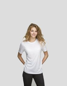 KIDS SUBLIMATION TEE WHITE  L'