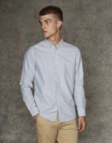 MEN'S SUPERSOFT CASUAL SHIRT LIGHT BLUE  L'