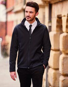 MENS SMARTSHELL BLACK  XXL'