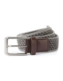 MENS VINTAGE WASH CANVAS BELT SLATE GREY  S/M'