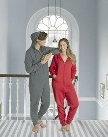 ONESIE RED  L/XL'