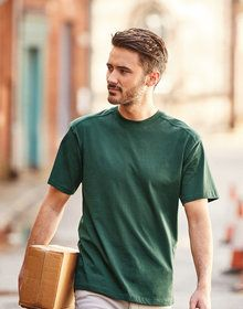 WORKWEAR TEE SHIRT CLASSIC RED  XL'